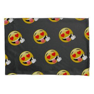 愛によって注目されるEmojiの枕箱の上の親指 枕カバー