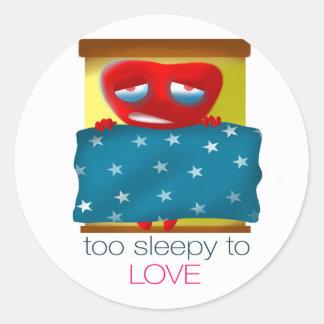愛に余りに眠い ラウンドシール