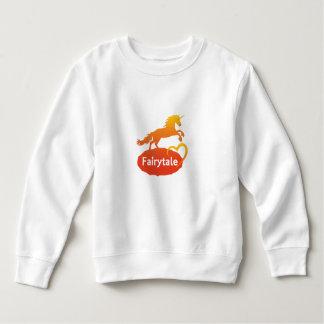 愛のおとぎ話のユニコーン スウェットシャツ
