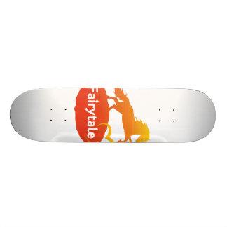 愛のおとぎ話のユニコーン スケートボード