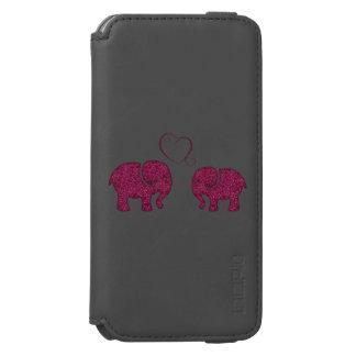 愛のかわいく粋でガーリーな象 INCIPIO WATSON™ iPhone 6 ウォレットケース