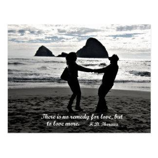 愛のための治療が、しかし多くを愛するためにありません ポストカード