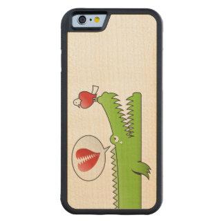 愛のわに CarvedメープルiPhone 6バンパーケース