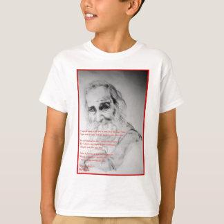 愛のウォルト・ホイットマン Tシャツ