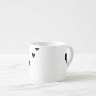 愛のエスプレッソのマグ エスプレッソカップ