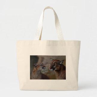 愛のオオヤマネコ ラージトートバッグ