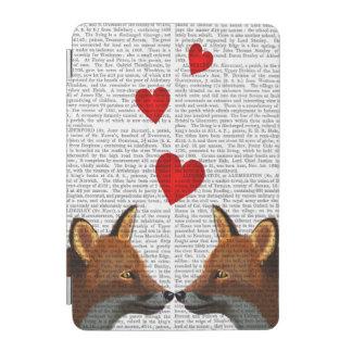 愛のキツネ iPad MINIカバー