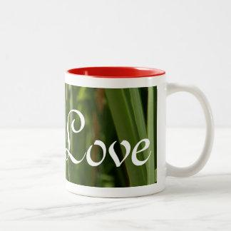 愛のトンボ ツートーンマグカップ