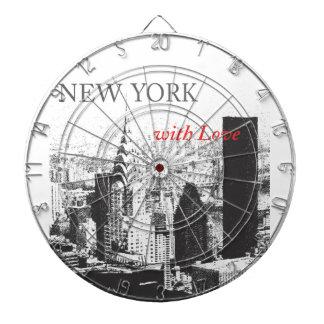 愛のニューヨーク ダーツボード