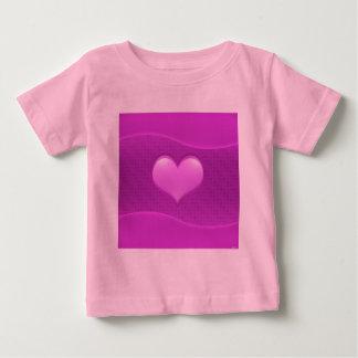 愛のハート ベビーTシャツ