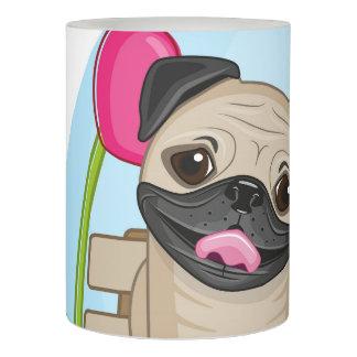 愛のパグの子犬 LEDキャンドル