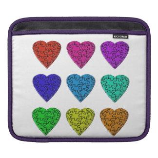愛のパズルのiPhoneカバー iPadスリーブ