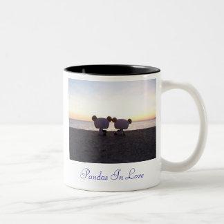 愛のパンダ ツートーンマグカップ