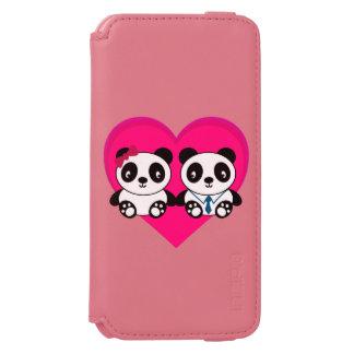 愛のパンダ INCIPIO WATSON™ iPhone 6 財布ケース