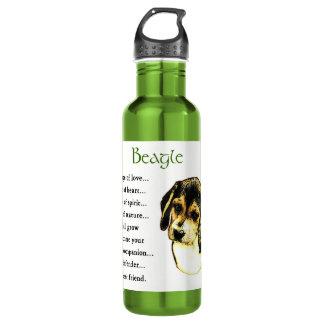 愛のビーグル犬の伝統 ウォーターボトル