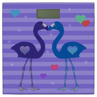 """""""愛のフラミンゴ""""体重計(Pplか青いまたはPpl) 体重計"""