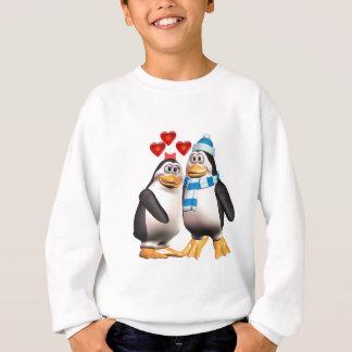 愛のペンギン スウェットシャツ