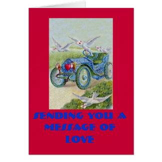愛のメッセージを送ります カード