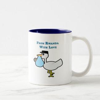 愛のルワンダから ツートーンマグカップ