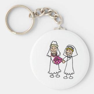 愛のレズビアンの花嫁 キーホルダー