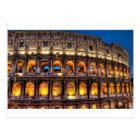 愛のローマのColosseumから ポストカード