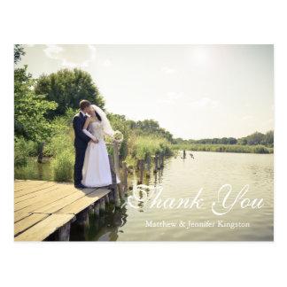 愛の永久に及び常に|のシルエットは感謝していしています ポストカード