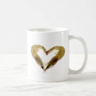 愛の灰色の車海老 コーヒーマグカップ