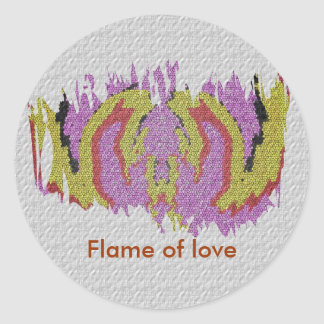 愛の炎 ラウンドシール