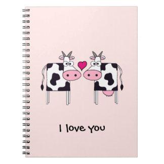 愛の牛 ノートブック