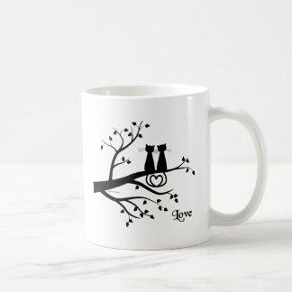 愛の猫 コーヒーマグカップ