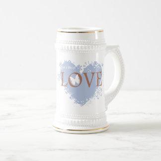 愛の生命は住んでいます ビールジョッキ