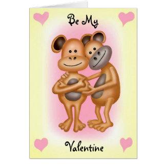 愛の生意気な猿 カード