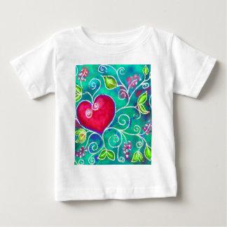 愛の表現 ベビーTシャツ