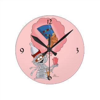 愛のMummific ラウンド壁時計