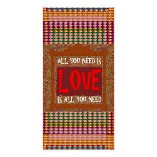 愛はあなたが必要とするすべて、あなたがの愛知恵必要とするすべてです ポスター