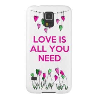 愛はすべてNeed.jpgです Galaxy S5 ケース