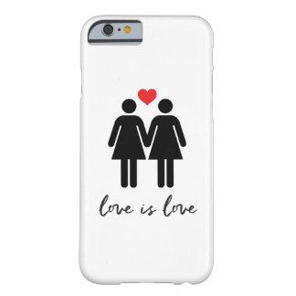 愛はです愛(女性) + ハート BARELY THERE iPhone 6 ケース