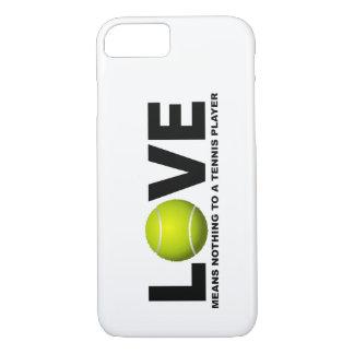 愛はテニス選手のiPhoneに何も7 cas意味しません iPhone 8/7ケース