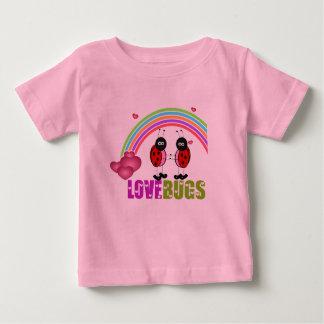 愛はバレンタインデーのワイシャツを煩わせます ベビーTシャツ