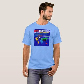 愛はユニセックスなTシャツを完成しました Tシャツ