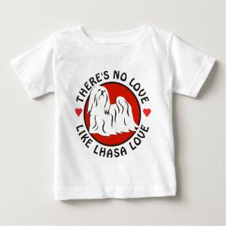 愛はラサ愛を好みません ベビーTシャツ