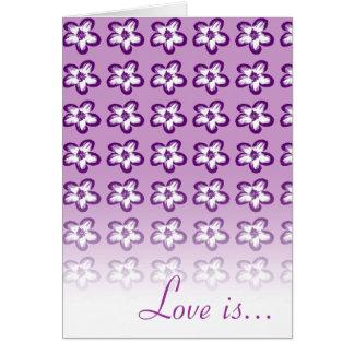 愛は忍耐強いです、愛です親切…. -カード-テンプレート カード