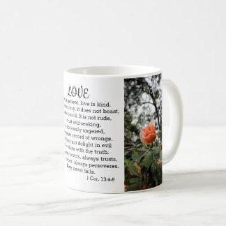 愛は患者1のCorinthiansの13:4 - 8マグです コーヒーマグカップ