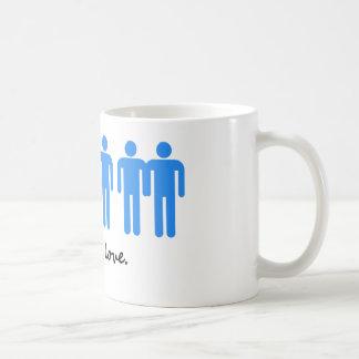 愛は愛です コーヒーマグカップ