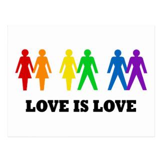 愛は愛です ポストカード