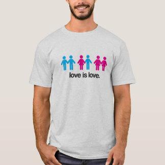 愛は愛です Tシャツ