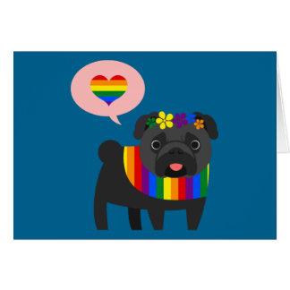 愛は愛ゲイプライドカードです カード