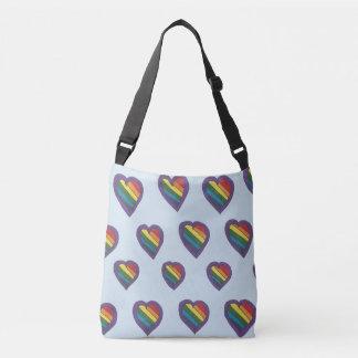 愛は愛バッグです クロスボディバッグ