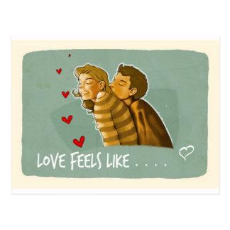愛は感じますlike.jpgLoveを感じます同類を…. ポストカード