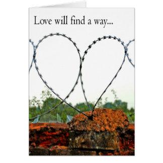 愛は方法を見つけます カード